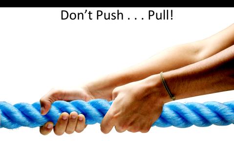 Push Pull System Crisis Communications