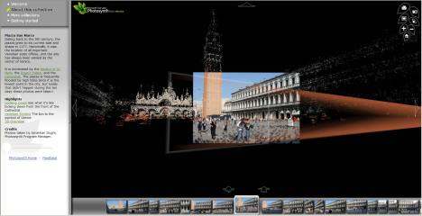 Photosynth of Piazza S.Marco in Venice