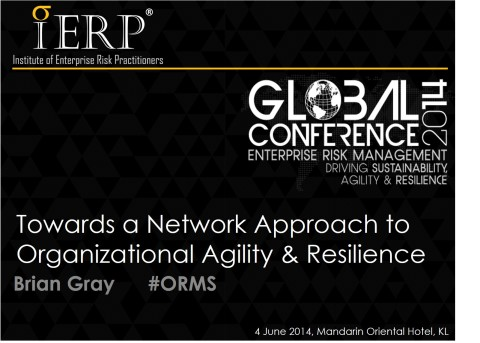 ierp, kuala lumpur, risk management, institute of enterprise risk practitioners, brian gray